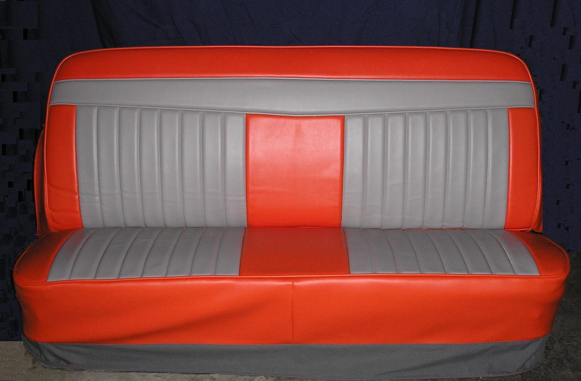 Seat Covers >> ICS Bench Truck Seat Covers / Rick's Custom Upholstery