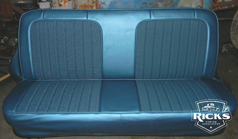 Houndstooth Seat Cover Truck Interior Rick S Custom Upholstery