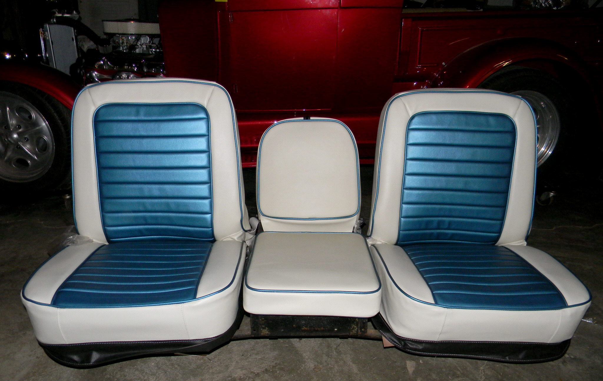 Bucket Seats For Chevy Truck >> Chevy Truck Buddy Bucket Seat Covers Rick S Custom