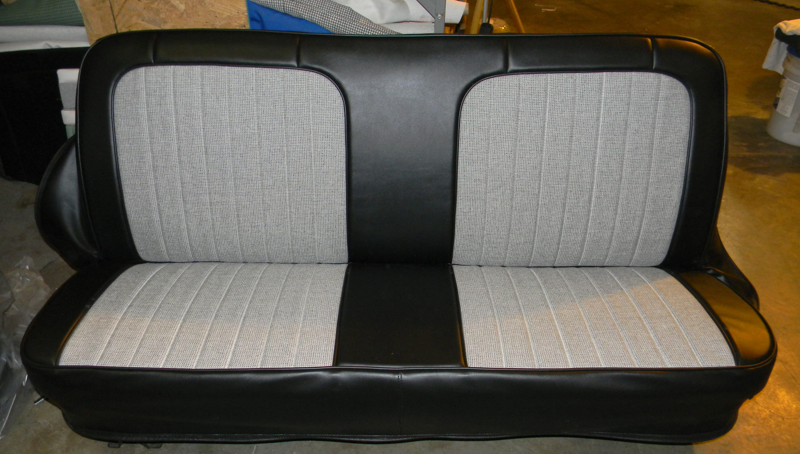 Seat Covers For Trucks >> 1972 Chevy Truck Houndstooth Seat Covers