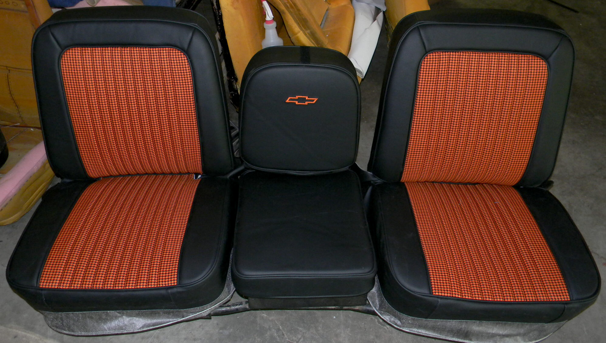 Seat Covers For Trucks >> 72 Chevy Truck buddy bucket seat covers