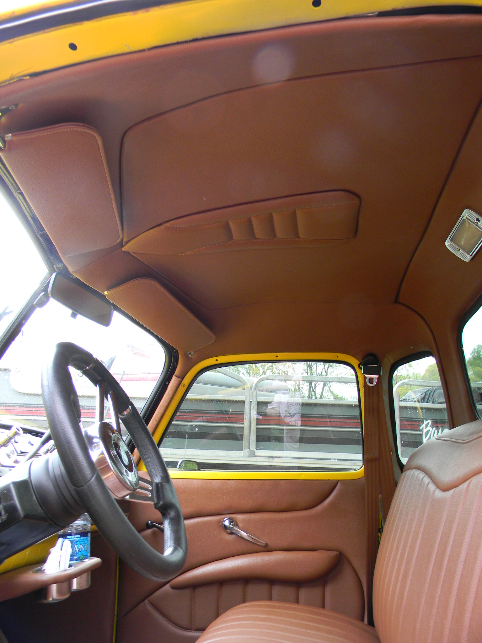 47 Chevy Truck Custom Interior Upholstery